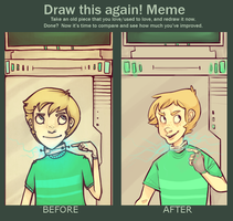 Before and After Meme by Gwnne