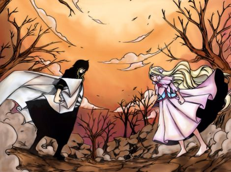 Mavis vs Zeref by AgentLiri
