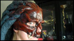 Klare Mask finished close up by Magpieb0nes