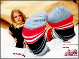 chaussettes-socks-Melo-260315a by Chaussette-Coolsocks