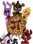 Fazbear's Pizza Pie by BrookPink