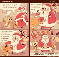 the Crunchy Bunches Xmas special part 3 by flipskip