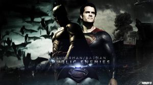 Man of Steel vs The Dark Knight by DemircanGraphic