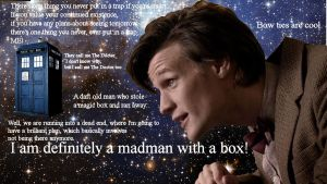 11th doctor by blueAntimatter