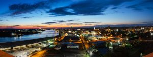 Savannah, Ga. Panorama by MarcAndrePhoto