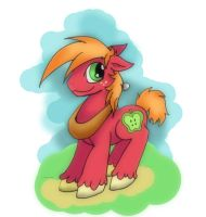 Bic Mac First new Color style atempt by Bunnygirle26