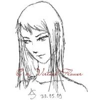 Claymore Sketches: Galatea by Virtual-Flower