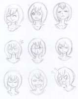 Sketch - Bubblegum Expressions One by Oiiou