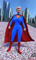 ElseWorld's Finest - SuperGirl by ManbeastMan