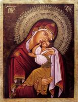 The Virgin and Christ by GalleryZograf