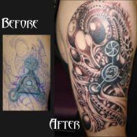 bio mechanical cover up by JesseDelRio