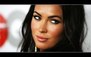 Megan Fox retouched by s1len7r0b