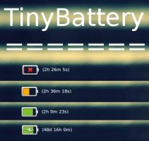 TinyBattery - Conky config [Conky 1.10] by N00by4Ever