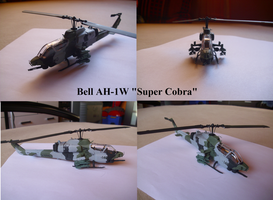 Bell AH-1 Super Cobra by Teratophoneus