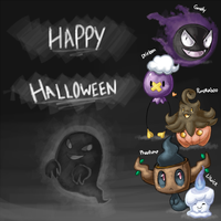 Happy Halloween and Stuff by Night-Wolf122