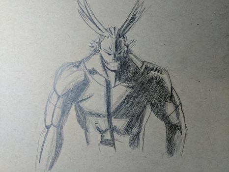 All Might!  by Darkslayer0905