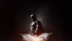 The Dark Knight (Wallpaper) by UsmanFTW