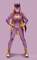 Batgirl of Burnside by sympathized