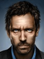 Speed Paint Dr. House by shobey1kanoby