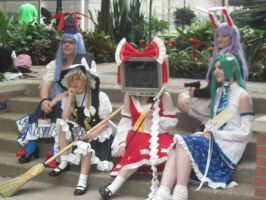 Katsucon 2013  Touhou Project photoshoot by VocaloidBrit
