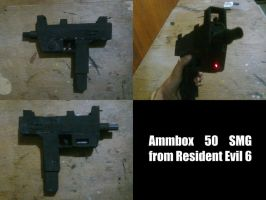 Resident  Evil Ammo Box 50 SMG by KamioRyotaro