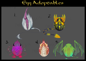 Egg Adoptables- Cash or Points - CLOSED. by NeoRabbitastic