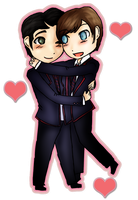 Klaine by RainbowRoosta