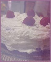 Vegan Lemon Raspberry Cake by Herbivoree