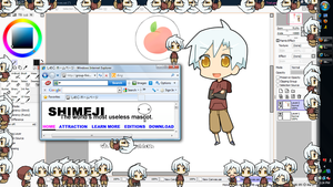 Dell shimeji by drill-tail