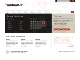 Inkblotter Homepage WIP by Holy-Promethium