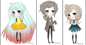 Mini Chibis Batch1 by Miivei