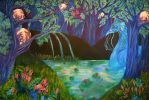 Enchanted forest by Crimson-rose-x