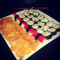 Making sushi for the first time. by raphaelcozzi