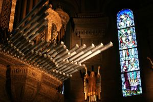 St. Marrys Basilica-The Organ by Belgarion115