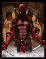 Deadpool Psychoz by ChrisOzFulton