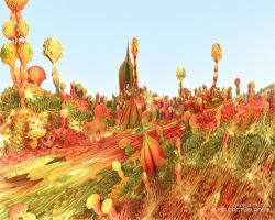 ALIEN CACTUSLAND II by love1008