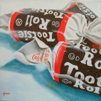 Tootsie Rolls by paintintheneck