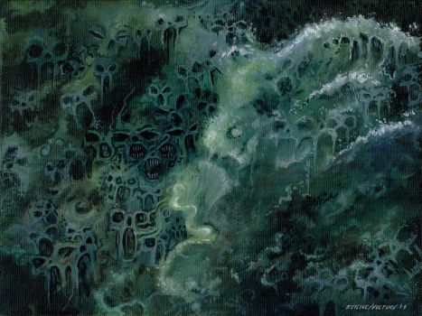 Oceanic Death Pulse by offermoord