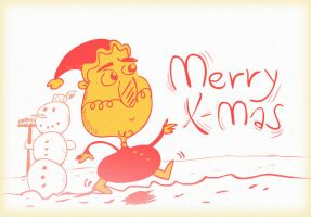 Merry Christmas to all of you by MarkP0rter
