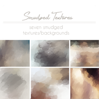 Smudge textures by tinystrawberry