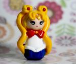 Sailor Moon chibi kokeshi by chikipita