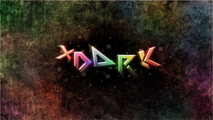 Typography xdark by VoidF0x