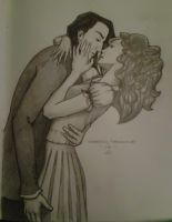 Severus and Hermione by dena-gray