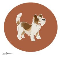 Jack Russell Terrier by Dil3mma