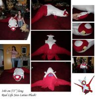 Latias Real Life Size Plush by Julika-Nagara
