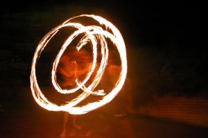 Motion and Fire IV by Drakkaran