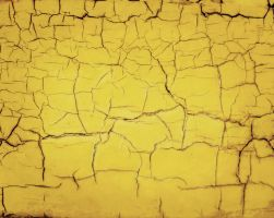 yellow cracks texture by ftourini-stock