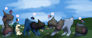 Deino and Cyndaquil Clutch- 100 potential by PARASlTE