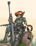 Tigergirl Sniper by Artraccoon
