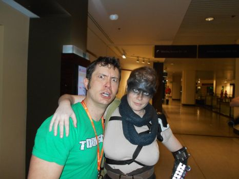 Me with Tobuscus by Jagarnot